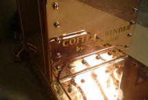 Handmade coffee grinder