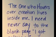 Writers Block: inspiration for getting words on the page
