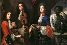 muzykanci, instrumenty w malarstwie