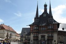 Walpurgis in Wernigerode / Die Düsselhexen stürmten am 30. April 2014 mit Spuk und Zauberei das Wernigeröder Rathaus.