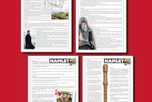 Hamlet Lesson Plan Ideas / This board is dedicated to Lesson Plans and teaching ideas for Shakespeare's Hamlet. If you would like to collaborate on this board, please contact me through www.bespokeclassroom.com.  Happy PINNERS love PINNING etiquette :-)