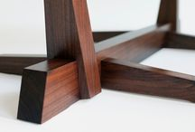 Table legs wood joinery