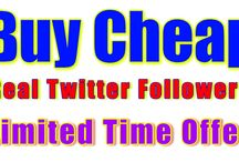 Buy Cheap Real Twitter Followers