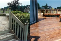 All Surface Restoration / We will deep clean your deck, patio, siding, fencing, wood swing set and other surfaces. Our unique system will remove mold and mildew and lift failed stains and sealers. An application of stain and/or sealer will then be applied to preserve the natural beauty of the wood.
