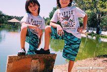 Provador Twins / Looks dos gêmeos Pietro e Pierre.
