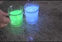 vidro fluorescente