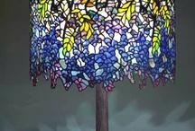Wisteria Tiffany's Lamp