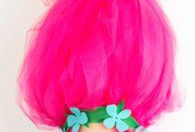 Troll Poppy Pipacs jelmez DIY costume