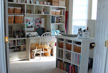 Craft Room Inspiration / by Eva Dishman