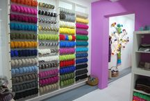 Welcome to our knit and crochet boutique / A world of dreams, colour and fluffy yarn and design in Brasov on Bd. 15 noi 92 / Str. Petru Rares www.modissima.ro