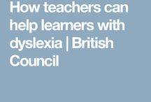 How teachers can help learners with dyslexia