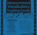 Measurement Trading Cards / by Buysellteach