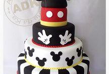 Gâteaux Mickey