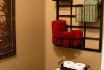 Bathroom ideas something new / by Marylyn Jackson