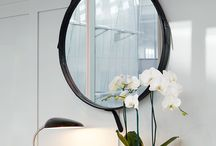 Hanging Mirrors | Decorative Mirrors / Mirrors with a chain, hanging mirrors