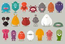 Monsters illustration