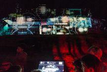 Vidéo mapping au château de Fleckenstein / Les images de la soirée vidéo mapping au château de Fleckenstein le 26 août 2016. Une initiative d'Alsace Destination Tourisme. Un spectacle réalisé par AV exciters. Photos Styl'List Images pour ADT.