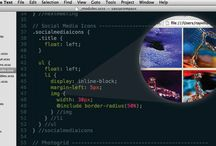 Web Design + Development / lynda.com has video tutorials to learn beginner and advanced skills in both web design and development.