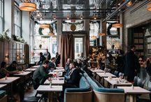 Интерьеры ресторанов