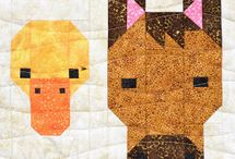 Quilt Blocks - Animals