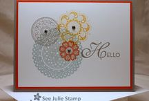 SU Lacey and lovely stamp set