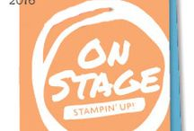 2016 Stampin' Up OnStage Display Board Stampers / This is a collection of projects made by display stampers for Stampin' Up's 2016 April OnStage Event / by Northwest Stamper - Jennifer Blomquist