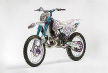 Alvaro Dal Farra's KTM sx 250 2014 / NEW 2014 crazy Alvaro Dal Farra's KTM sx 250 anodized by DedoRacing