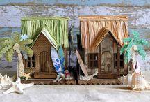 Tim Holtz Houses & Minatures