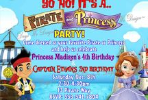 Princesses and Pirate Party Ideas