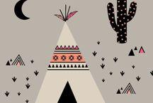 diseño tribal niño
