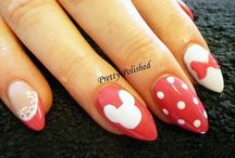 Stiletto Nails / All sorts of stiletto nails created at our salon.
