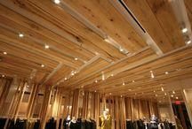 Interior + ceiling