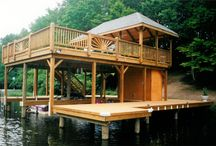 Boat house / Boat house ideas