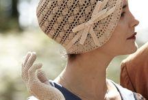 Mănuși și pălăriuțe croșetate