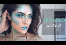 Mermaid Makeup ideas / Mermaid Makeup ideas