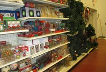 Christmas Decor @ Cabarrus ReStore / Our Habitat ReStore in Kannapolis, NC has tons of Christmas decor and craft items in stock!  Why not save some money this holiday season while helping the Habitat for Humanity of Cabarrus County?