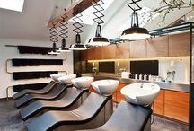 Interesting Salon Interiors