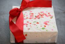 DIY Wrapping Paper / Selbstgemachtes Geschenkpapier, DIY wrapping papeer