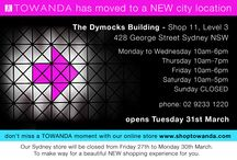 The TOWANDA diaries / Take a sneak peak into store - check out whats going on! Follow the fashion antics of our FABULOUS store gals.