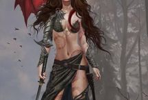 Warrior, Badass Women & related