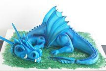 Blue dragon birthday party ideas