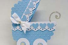 Baby Card/ Baby Favor Ideas