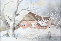 Winter Acryl