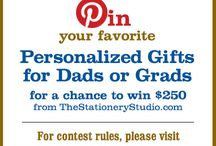 The Stationery Studio Dads and Grads 2015 Contest / The Grand Prize Winner will receive a $250 gift certificate  to TheStationeryStudio.com! 5 runners-up will each receive a $50 gift certificate to TheStationeryStudio.com. Contest Dates: May 6th – May 27th - Winners to be Announced: May 29th / by dale thele