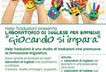Laboratorio di inglese per bambini a Pisa - English Lab / Foto, articoli e idee su come insegnare l'#inglese ai più piccoli, in gran parte tratte dai nostri laboratori per #bambini a #Pisa