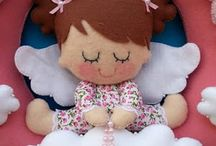 guirlanda boneca