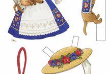 paper dolls/ mariquitas perez / todo lo que encuentre sobre estas preciosas muñequitas