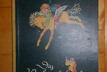 Винтажные антикварные детские книги