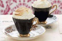 caffè con la panna
