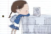 ilustracje, rysunki, grafiki / illustrations, drawings, graphics